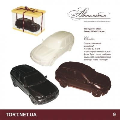 Автомобиль из шоколада_1