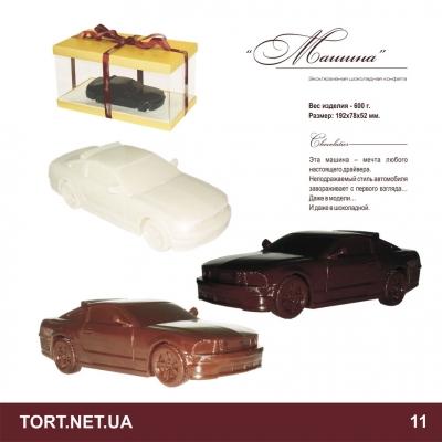 Автомобиль из шоколада_3