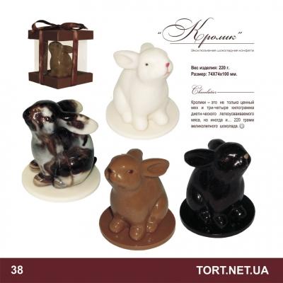 Шоколадная фигурка животного_11