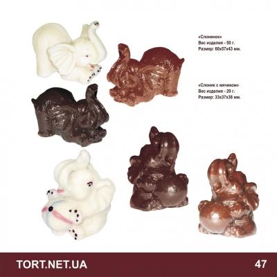 Шоколадная фигурка животного_14
