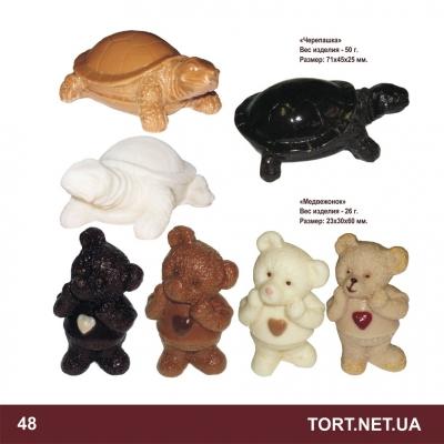 Шоколадная фигурка животного_15