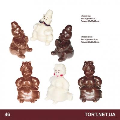 Шоколадная фигурка на торт_2
