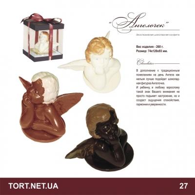 Шоколадная фигурка на торт_6