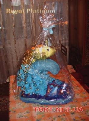 Подарок из конфет на Юбилей_7