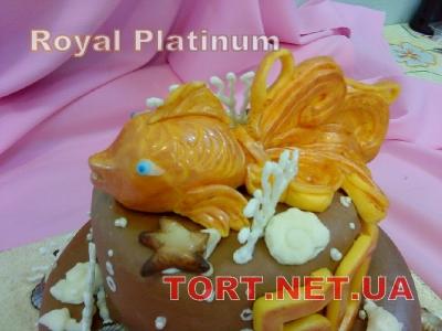 Торт Золотая рыбка_20