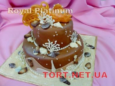 Торт Золотая рыбка_21