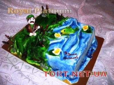 Торт Золотая рыбка_26