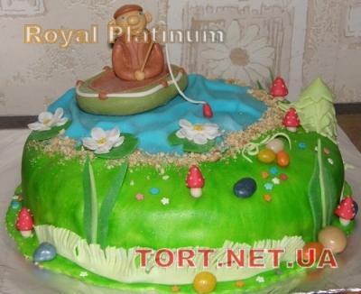 Торт Золотая рыбка_27