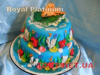 Торт Золотая рыбка_2