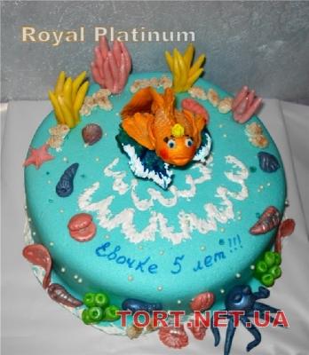 Торт Золотая рыбка_30