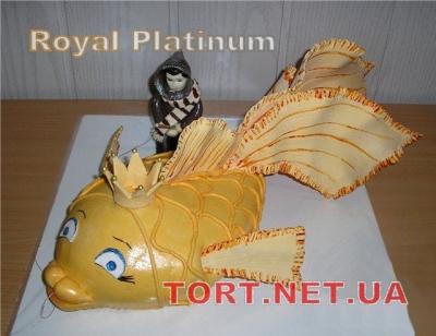 Торт Золотая рыбка_32