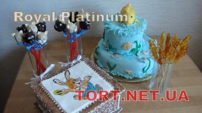 Торт Золотая рыбка_34