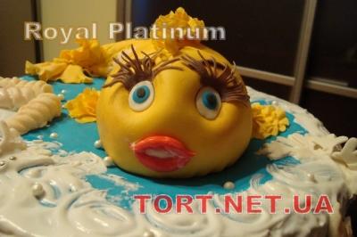Торт Золотая рыбка_8