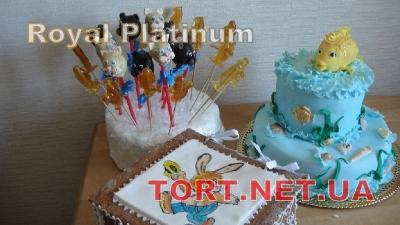 Торт Золотая рыбка_9