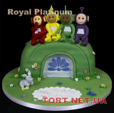 Торт Телепузики_3
