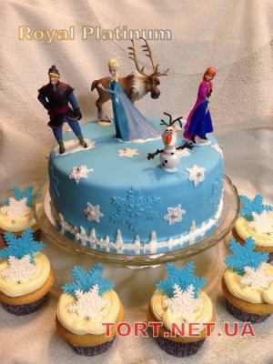 Торт Холодное сердце_11