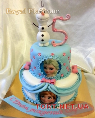 Торт Холодное сердце_15