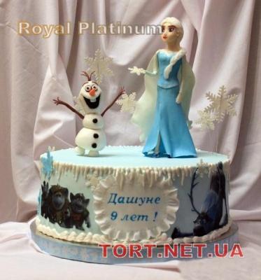 Торт Холодное сердце_16
