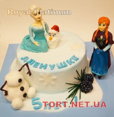 Торт Холодное сердце_22