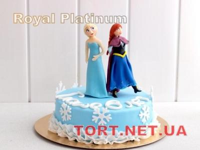 Торт Холодное сердце_24