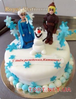 Торт Холодное сердце_2