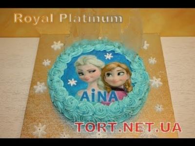 Торт Холодное сердце_8