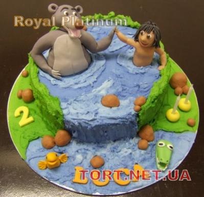 Торт Книга джунглей (Маугли)_4