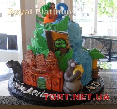 Торт Книга джунглей (Маугли)_6