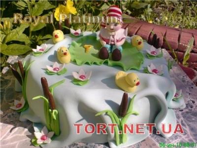 Торт Буратино (Пиноккио)_4