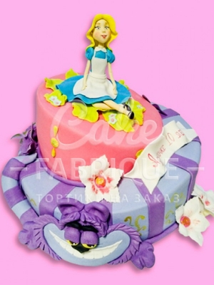 Торт Алиса в стране чудес_10