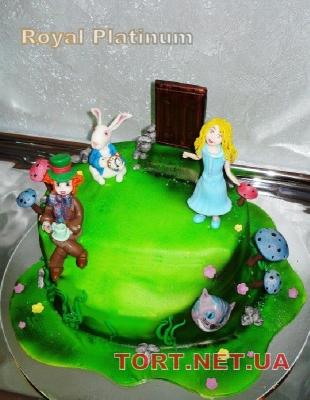 Торт Алиса в стране чудес_6