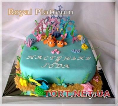Торт Рыбка Немо_3