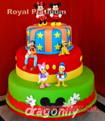 Торт Утиные истории_10