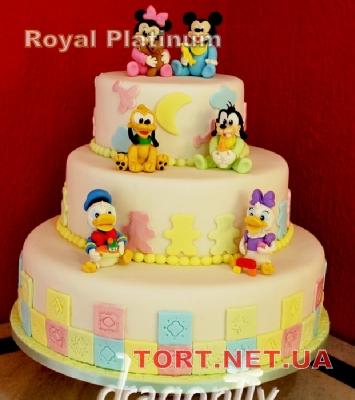 Торт Утиные истории_9