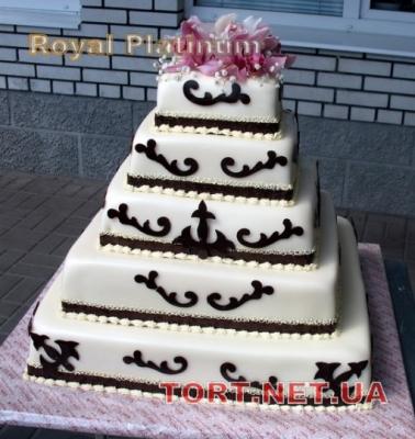 Свадебный торт 5 ярусов_1