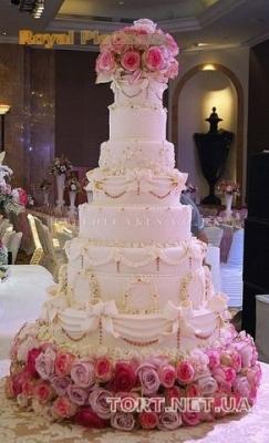 Свадебный торт 8 ярусов_2