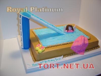 Торт Плавание_1
