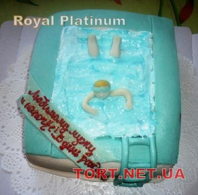 Торт Плавание_2