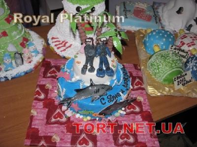 Торт Плавание_4