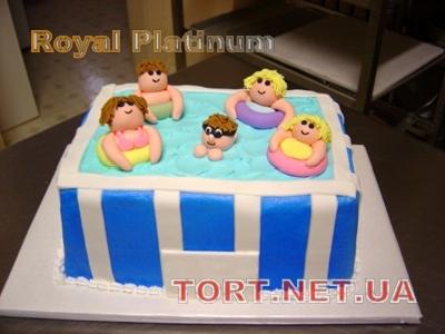 Торт Плавание_5