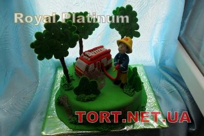 Торт Пожарник_1