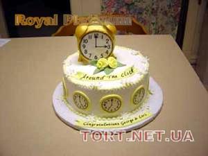 Торт Часы_3