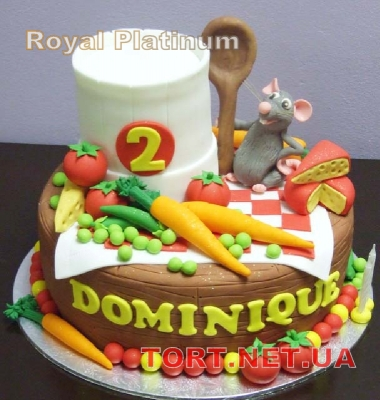Торт Имитация пищи_18