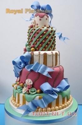 Торт на Юбилей 5 ярусов_1