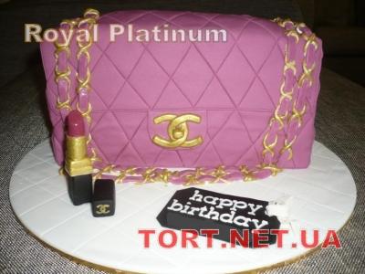 Торт Chanel_5