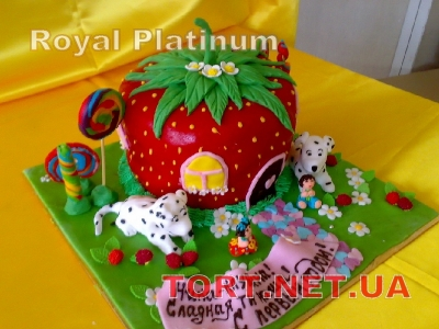 Торт Собака_24