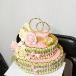 Торт из конфет_3