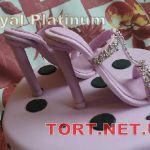 Торт женская туфелька_11