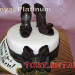 Торт женская туфелька_12