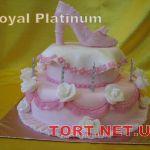 Торт женская туфелька_14